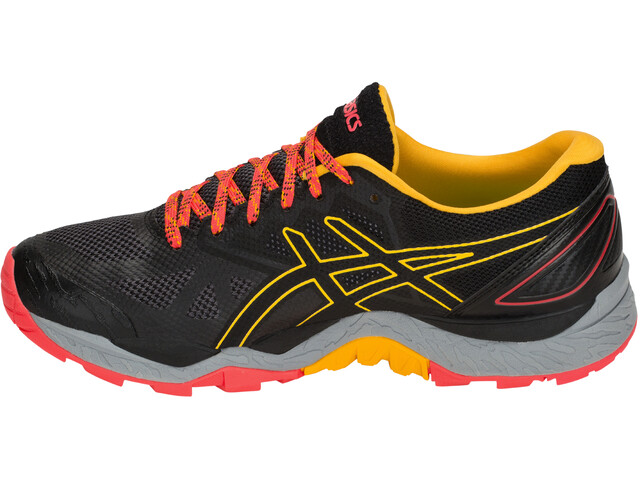asics Gel-Fujitrabuco 6 Shoes Women Black/Amber